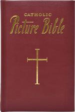 Catholic Picture Bible Burgundy