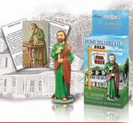 """St. Joseph Home Sellers Kit Includes Instuctions, Prayer, & Statue 4"""""""