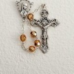 Rosary, Gold Bead, 6mm