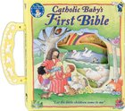 Catholic Baby's First Bible w/handle