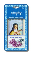 Chaplet of St. Theresa of Lisieux with Pink Beads