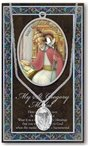 St. Gregory the Great Pewter Medal and Prayer Folder