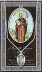 St. James the Apostle Pewter Medal and Prayer Folder
