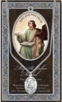 St. John the Evangelist Pewter Medal and Prayer Folder