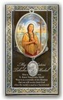 St. Kateri Pewter Medal and Prayer Folder