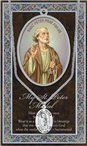 St. Peter Pewter Medal and Prayer Folder