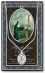 St. Rita Pewter Medal and Prayer Folder