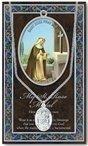 St. Rose of Lima Pewter Medal and Prayer Folder