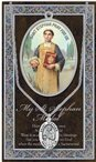 St. Stephen Pewter Medal and Prayer Folder