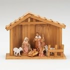 Creche and 7 pieces - My First Nativity Collection - Fontanini
