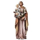 Statue - St. Joseph with the Child Jesus 6.25""