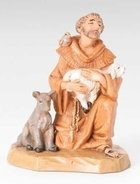 """5"""" St Francis of Assissi - creche piece - Fontanini"""