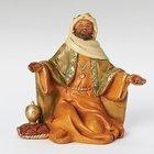 """5"""" Balthazar King - creche piece - Fontanini"""