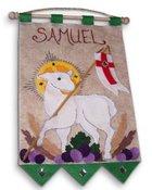 Banner-First Communion kit- Lamb of God - Purple