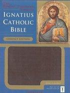 Ignatius Catholic Bible - Compact Edition w/zipper