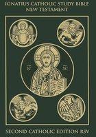 Ignatius Catholic Study Bible New Testament 2nd RSV  [Paperback]
