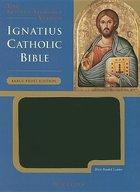 Bible- Ignatius Large Print Black Bonded Leather RSV