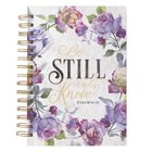 Journal - Be Still and Know [Wirebound Journal] Contains Scripture on each page