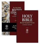 Holy Bible Revised Standard Version (RSV) Red Letter