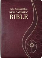 Bible St. Joseph New Catholic Bible [Giant Type]