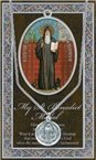 St. Benedict Pewter Medal and Prayer Folder