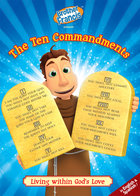 Brother Francis DVD #16 - The Ten Commandments:Living within God's Love