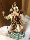 """Statue St Christopher 10.75"""""""
